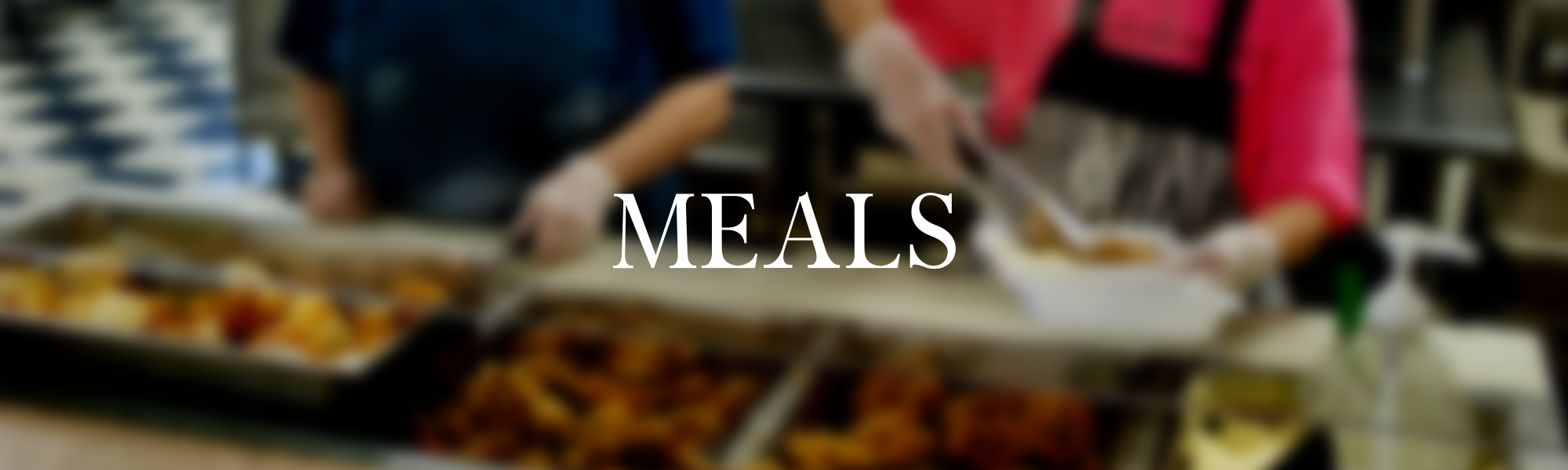 meals at the senior center